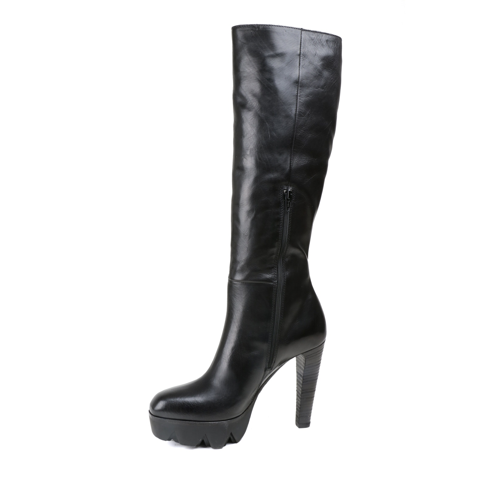 Damen Stiefel Stiefel Stiefel VIC MATIE Plateausohle schwarz Glattleder NEU Gr.38 09c88c