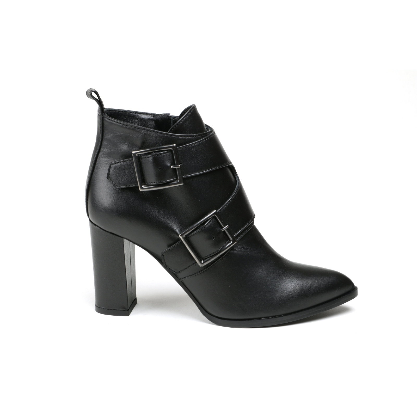 Señora botín alberto zago elegante negro cuero liso liso liso nuevo talla 39  barato y de alta calidad