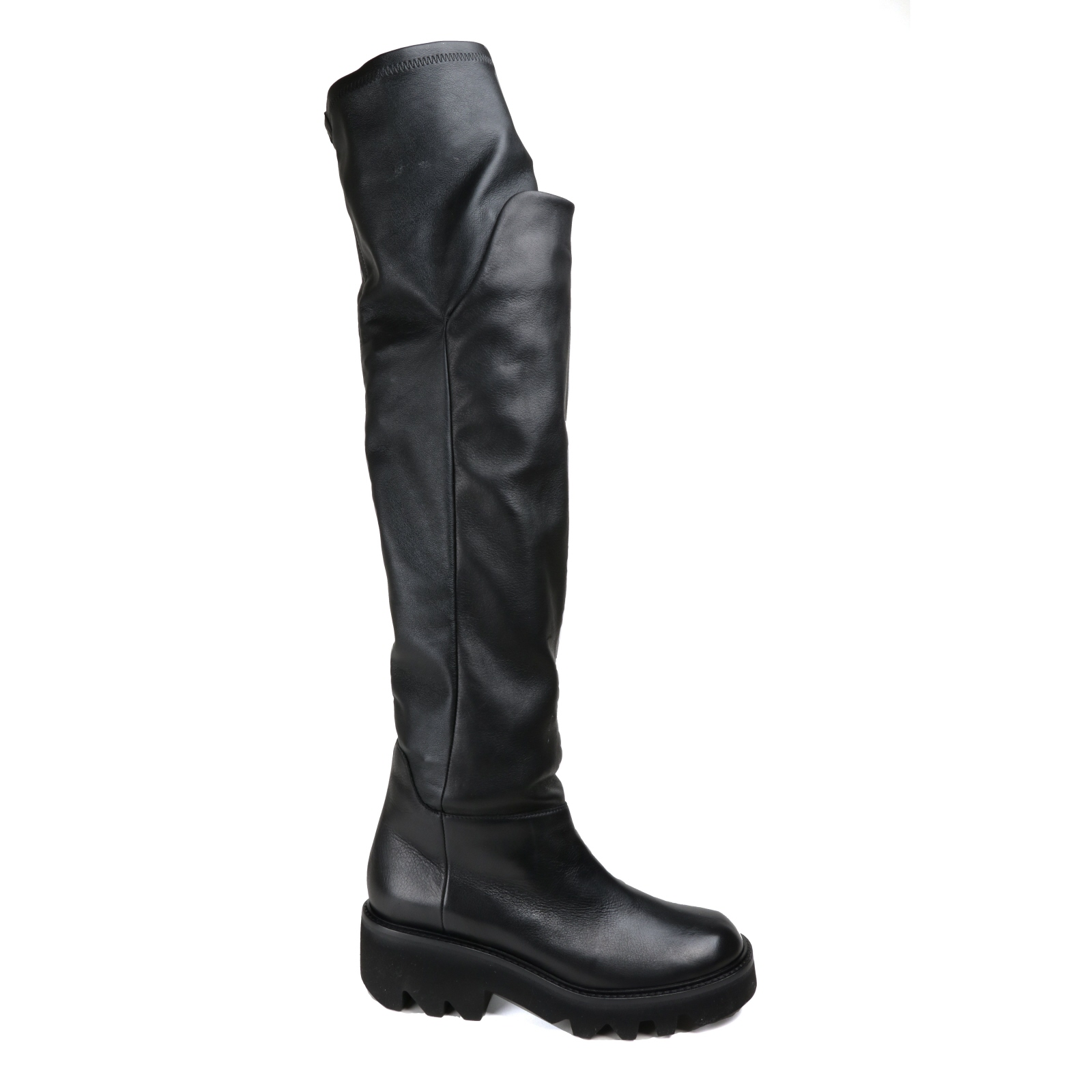 Damen schwarz Stiefel VIC MATIE Lässig schwarz Damen  Glattleder NEU Gr.39 6acfa9