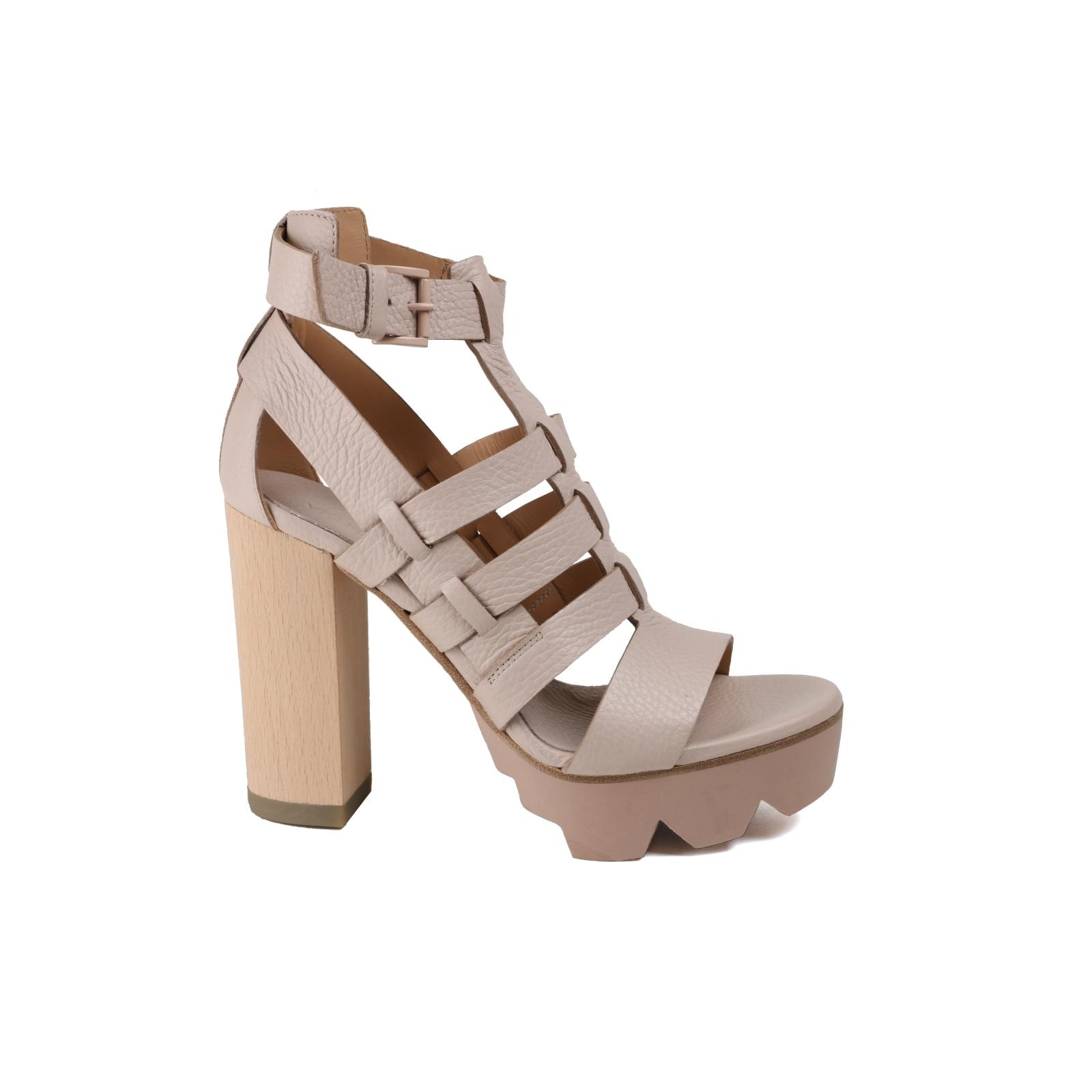 Descuento por tiempo limitado Damen Sandalette VIC MATIE Trend beige  Glattleder NEU Gr.39
