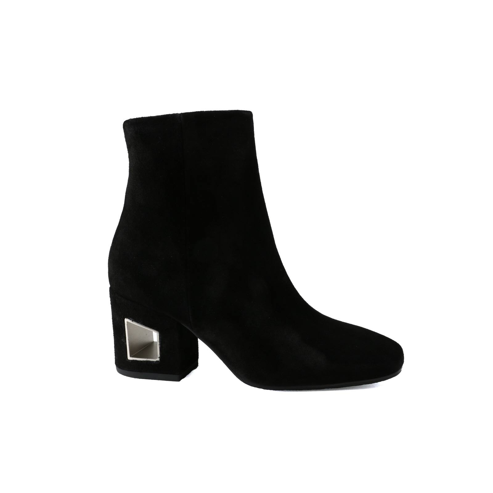 Femmes Bottine Vic Matie à la mode noir velourleder NEUF T. 41