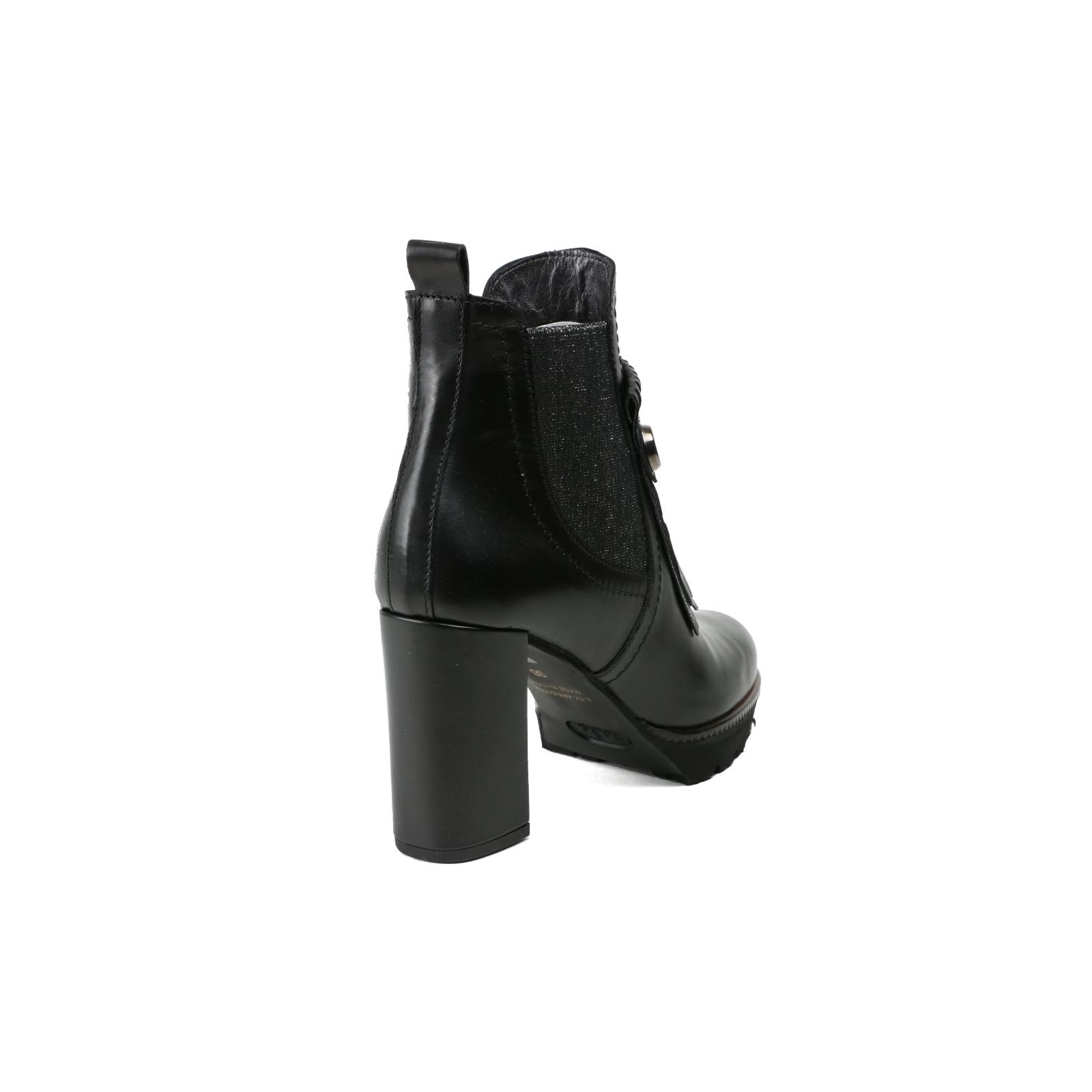 Leather New Black 37 Stivaletto Smooth da donna Maripe 'Fashion Gr cSFRx