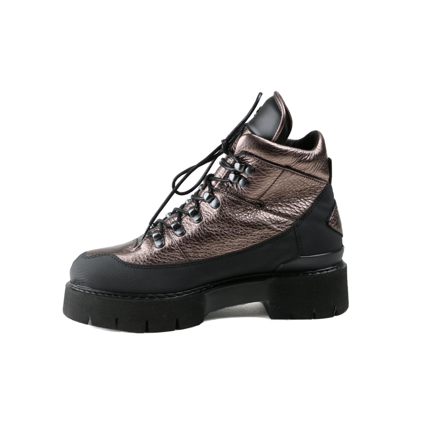 Oxs Damen Bronze Neu Glattleder Stiefel 37 Gr Lässig 6xxw8f5A
