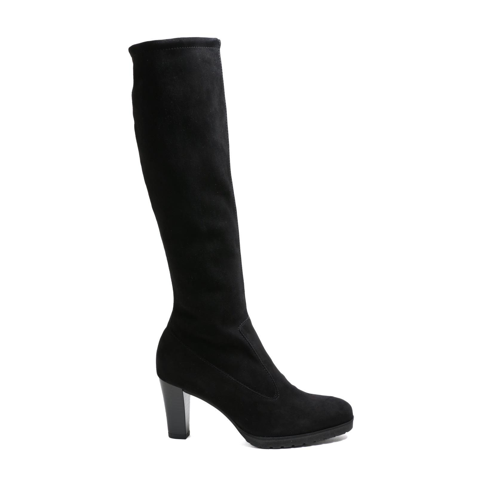Damen Stiefel Peter Kaiser Lozana, Elegant schwarz  Velourleder NEU Gr.37