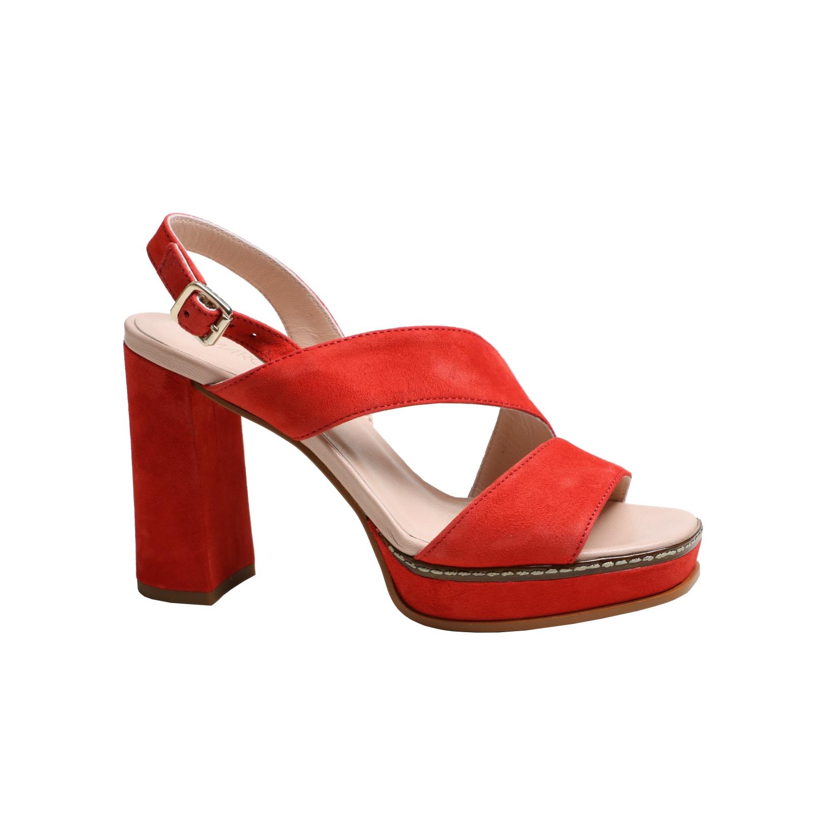 Womens Sandals MARCCAIN Fashion Red Davison New Size 39