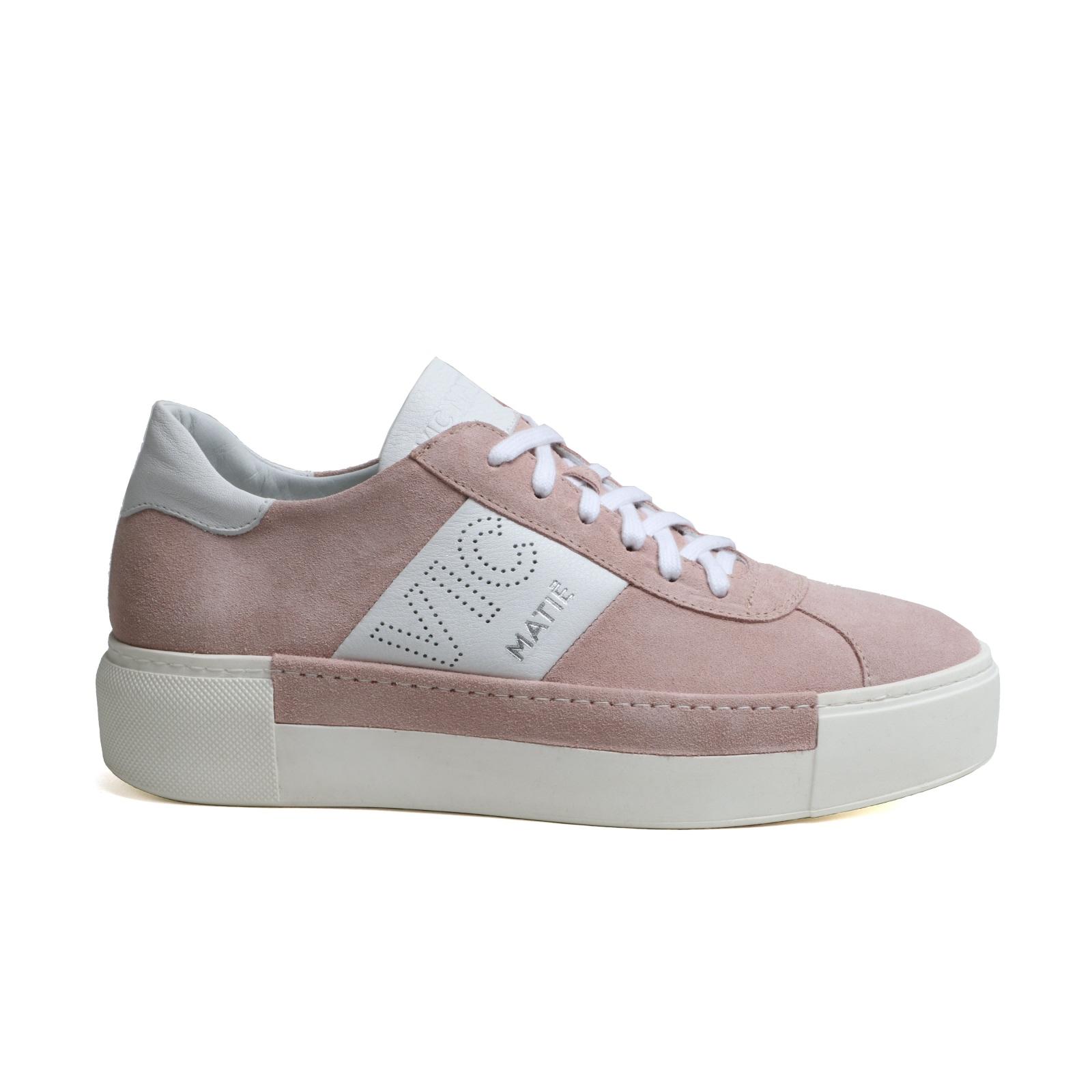 Sneaker Femmes Vic Matie Sportif Rosa Velourleder Neuf T. 39