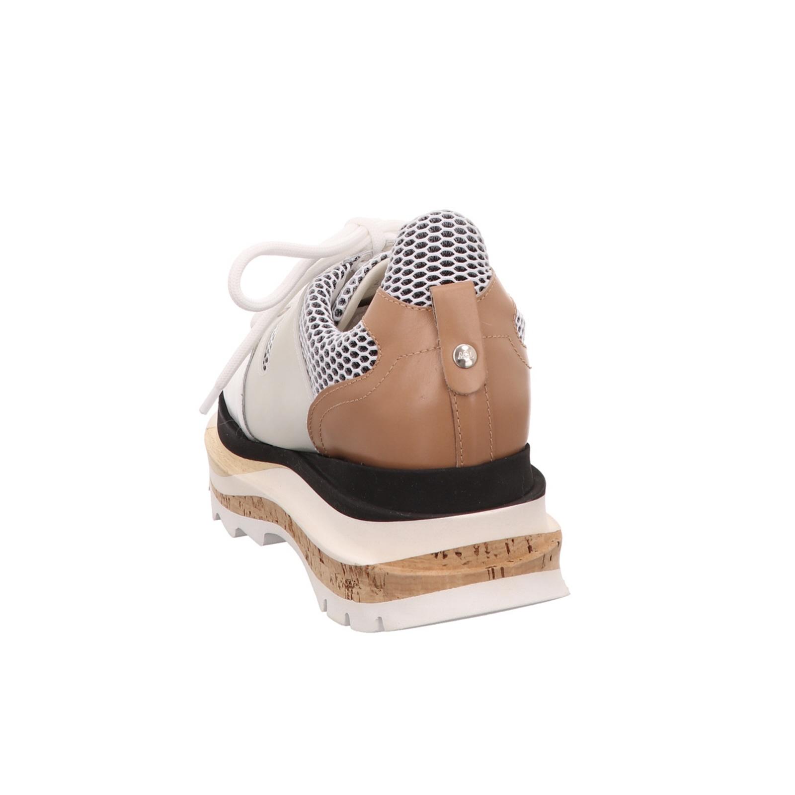 Damen Sneaker Attilio Giusti Leombruni Modisch weiss Glattleder NEU Gr.37,5