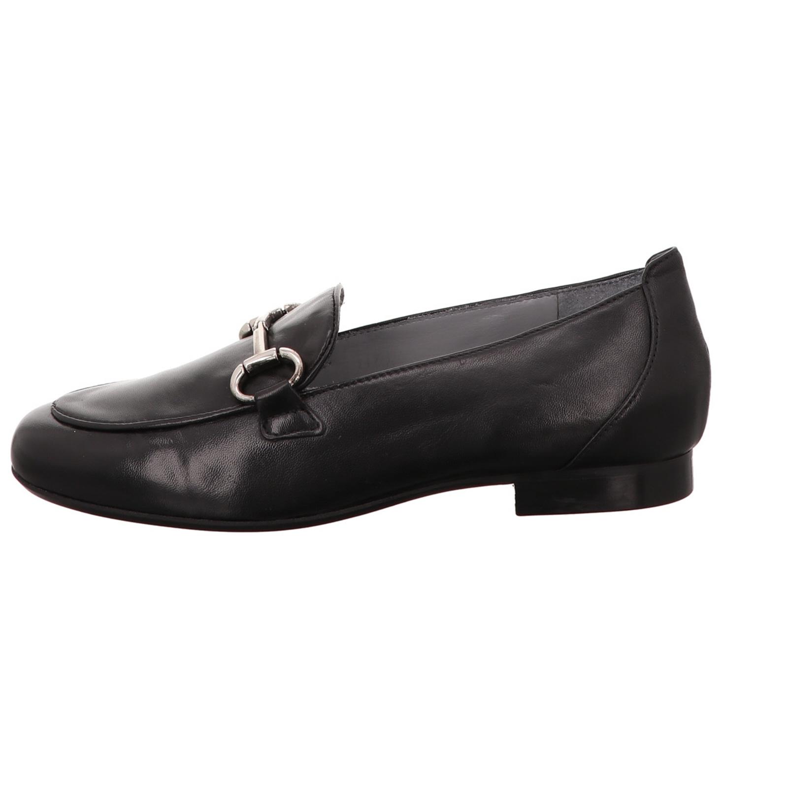 Damen Slipper Maripe' Mode schwarz  Glattleder NEU Gr.38